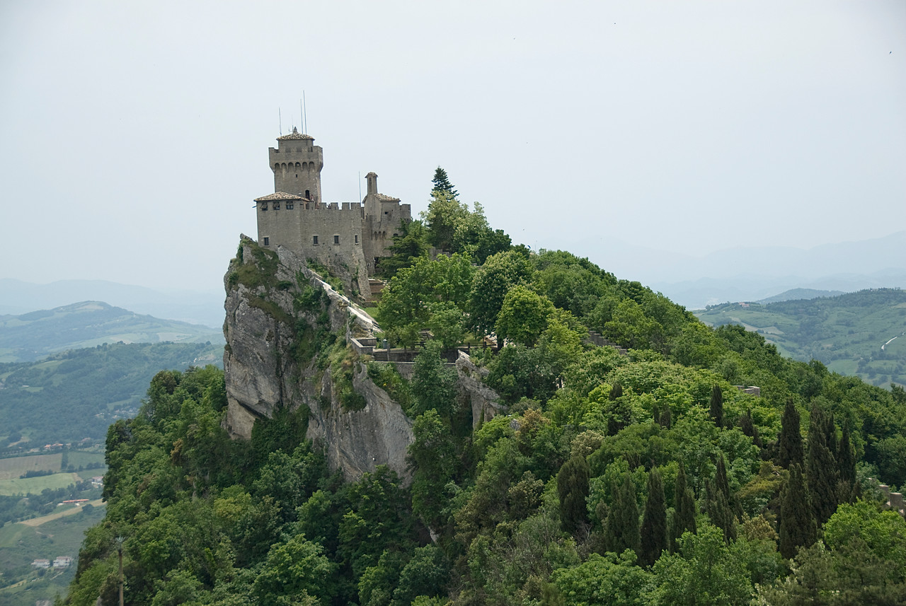 The Guaita Castle in San Marino