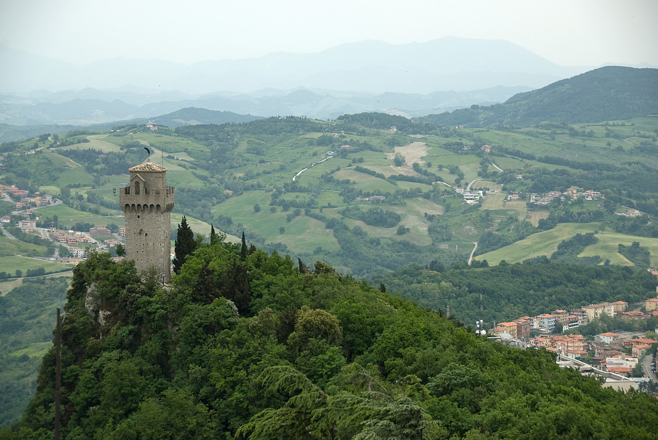 The Prima Torre (or First Tower) in San Marino