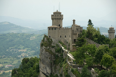 The Guaita Castle in Republic of San Marino