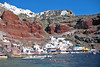 Ammoudi Bay below Oia on Santorini Island, Greece