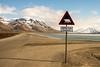 Caution sign for Polar Bears