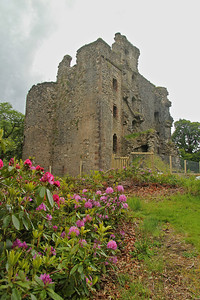 The ruins of Invergarry Castle - dates to the early 1600s