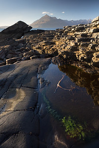 But the dramatic rocky beaches of Skye held their own beauty as well