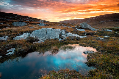 Another striking sunrise over the Isle of Harris