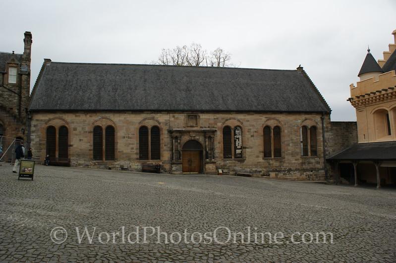 Stirling - Stirling Castle - Chapel Royal