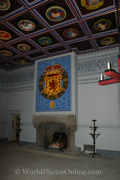 Stirling - Stirling Castle - Palace - The King's Lodging