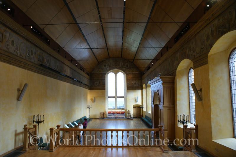 Stirling - Stirling Castle - Chapel Royal - Interior