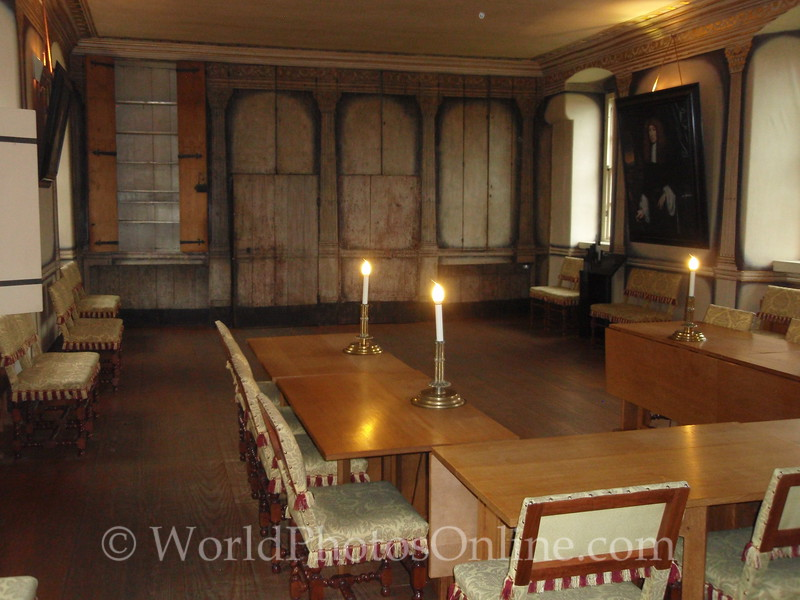 Stirling - Argyll's Lodging - High Dining Room