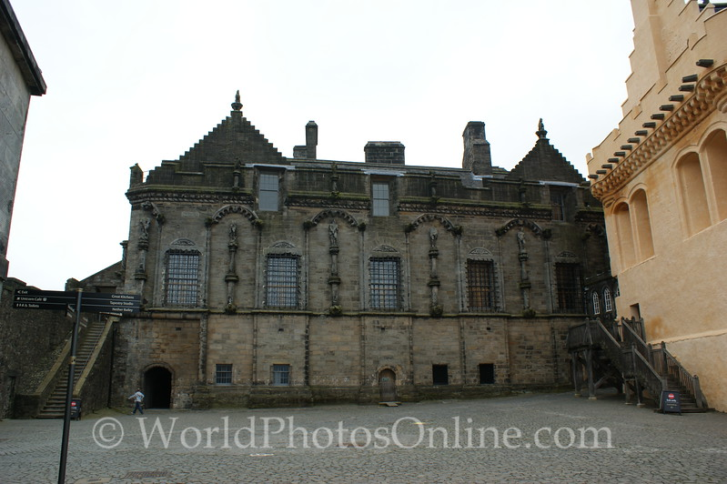 Stirling - Stirling Castle - The Palace