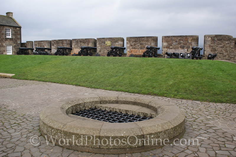 Stirling - Stirling Castle - The Wall Walk Battery