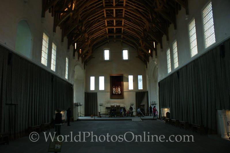 Stirling - Stirling Castle - Great Hall - Interior