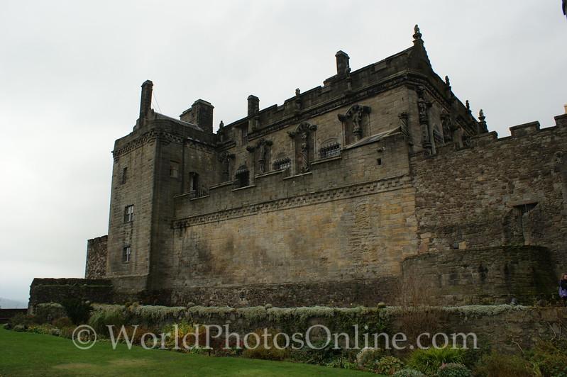 Stirling - Stirling Castle - The Lion's Den