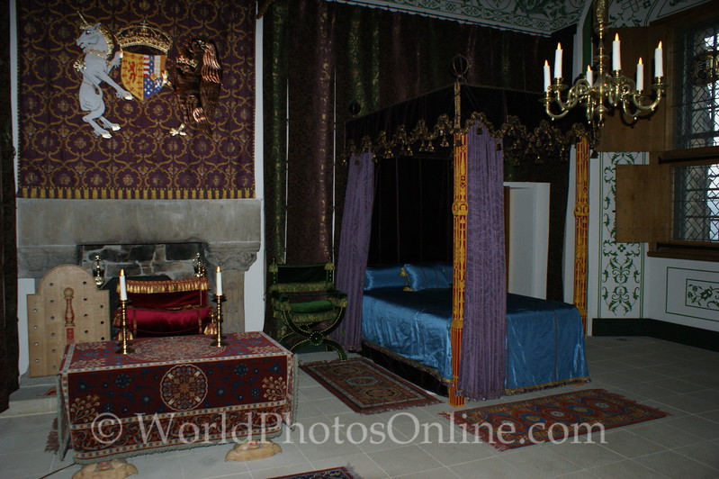 Stirling - Stirling Castle - Palace - The Queen's Lodging