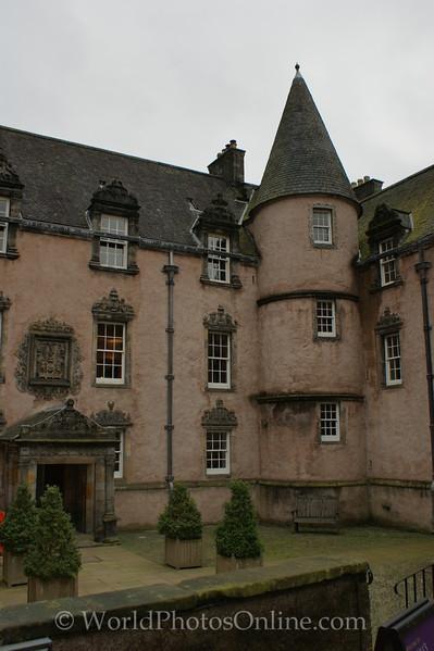 Stirling - Argyll's Lodging - Entrance