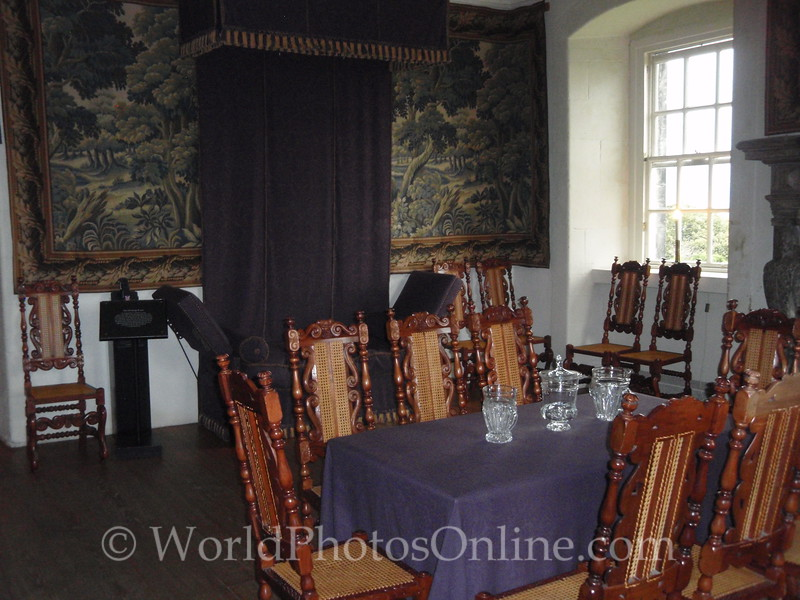 Stirling - Argyll's Lodging - The Drawing Room