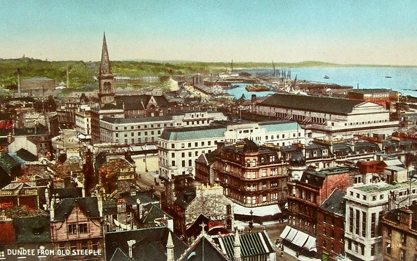 Dundee from Old Steeple