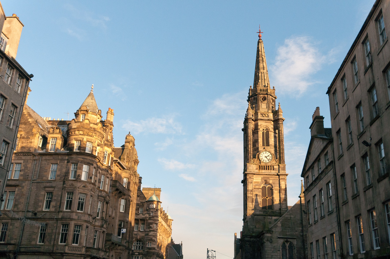 The Edinburgh Clock Tower - Edinburgh, Scotland