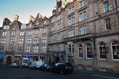The Scotsman's Lounge bar in Edinburgh, Scotland