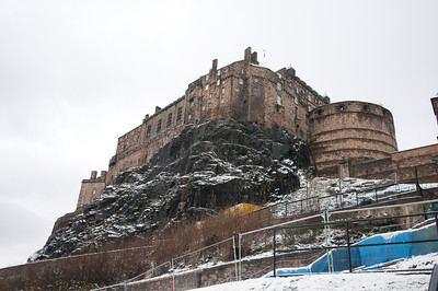 The Edinburgh Castle in Edinburgh, Scotland