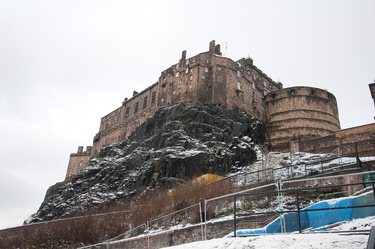 The Edinburgh Castle in Edinburgh, Scotland