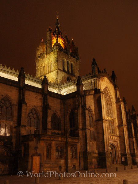 Edinburgh - St Giles Church at night
