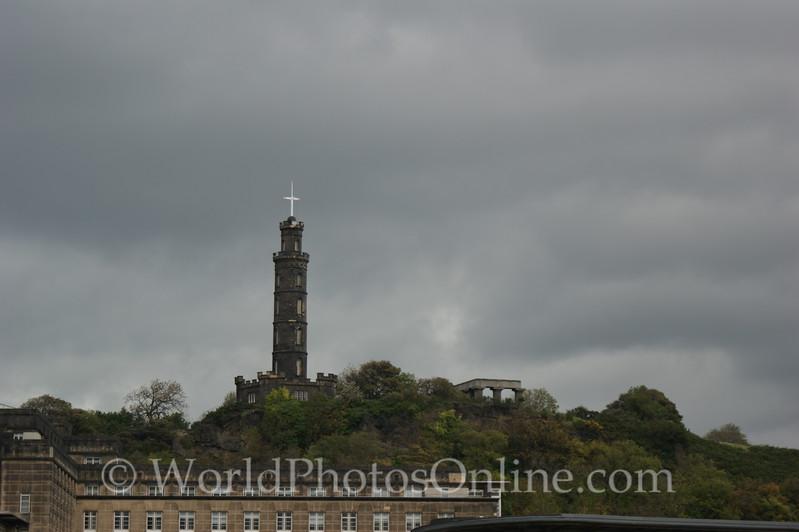 Edinburgh - Nelson's Monument & National Monument