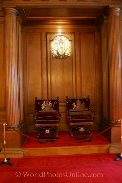 Edinburgh - Holyrood House - Throne Room