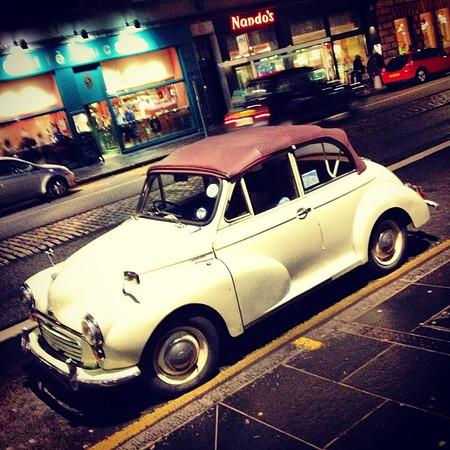 Late night, midlife crisis-mobile #Edinburgh #blogmanay