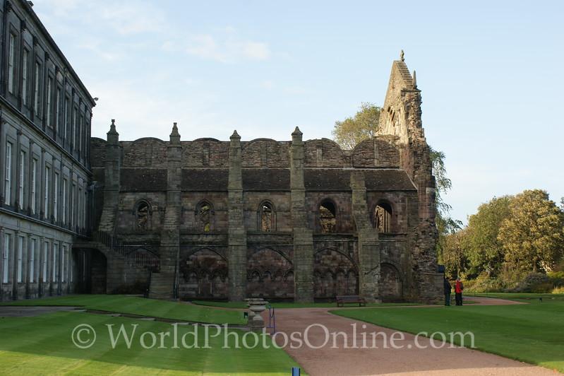 Edinburgh - Holyrood House - Abbey Church - Exterior