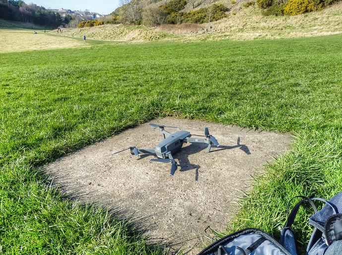 mavic drone landing pad