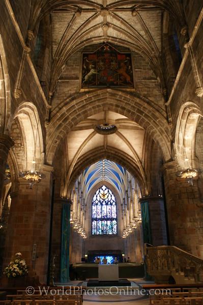 Edinburgh - St Giles Church - Interior