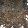 Edinburgh - St Giles Church - Thistle Chapel - Ceiling