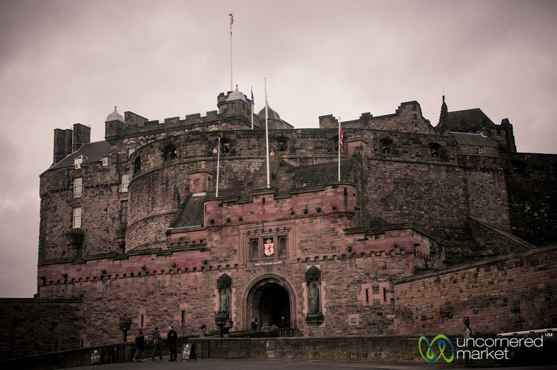 Edinburgh Castle Entrance - Scotland