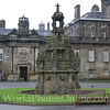 Edinburgh - Holyrood House - Courtyard
