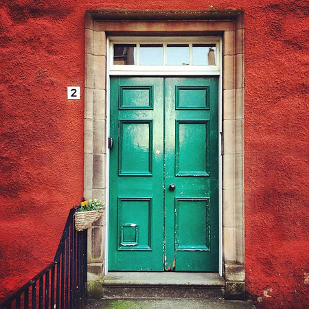 Favorite doorway candidate #15, one for the new year. #Edinburgh #blogmanay #Hogmanay