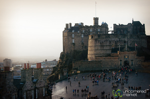 Edinburgh Castle and Courtyard - Scotland