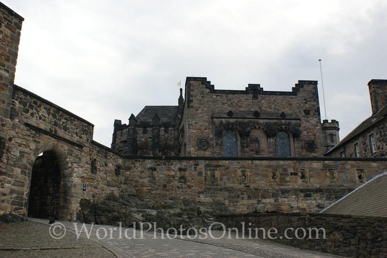 Edinburgh Castle - Foog's Gate to the Upper Ward