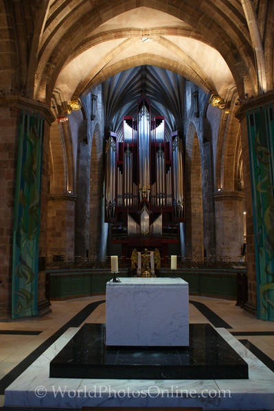 Edinburgh - St Giles Church - Altar