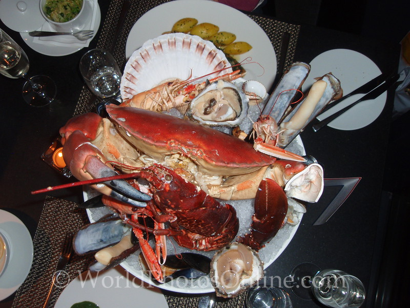 Edinburgh - Ondine Restaurant - Fruits De Mer