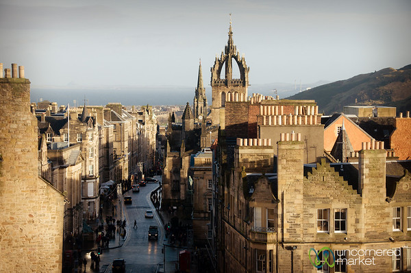 Royal Mile in Edinburgh, Scotland