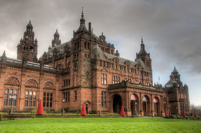 The Kelvingrove Art Gallery and Museum in Glasgow, Scotland