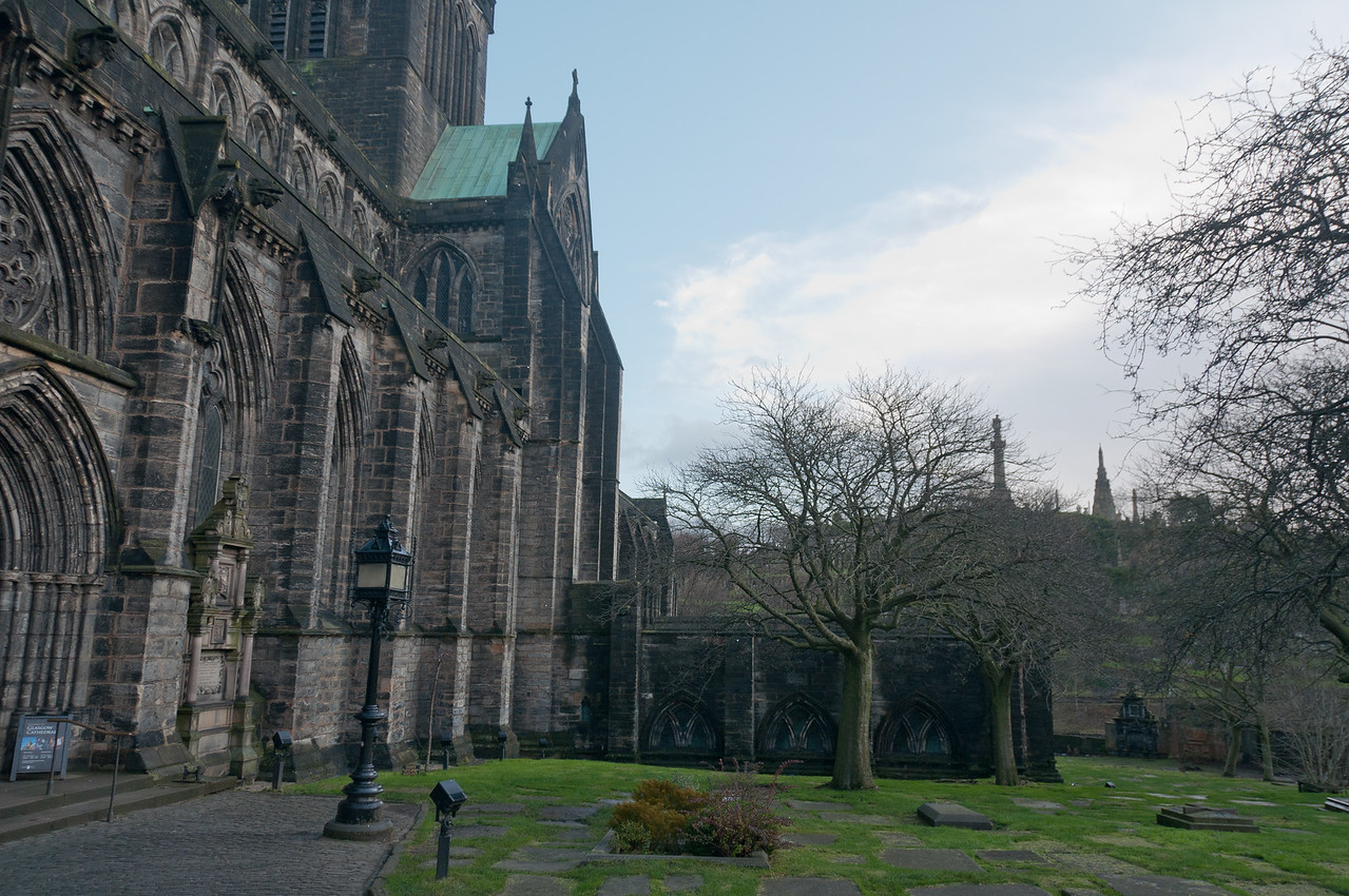 Glasgow Cathedral in Glasgow, Scotland