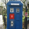 Glasgow - Police Box - For all those Dr Who fans out there (like me!)