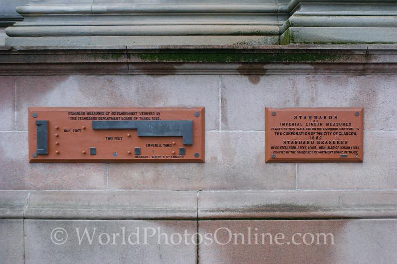 Glasgow - City Hall - Measures
