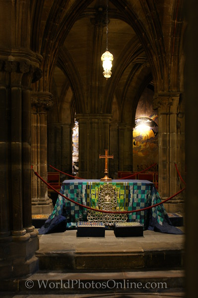 Glasgow - Cathedral - St Mungo's Tomb