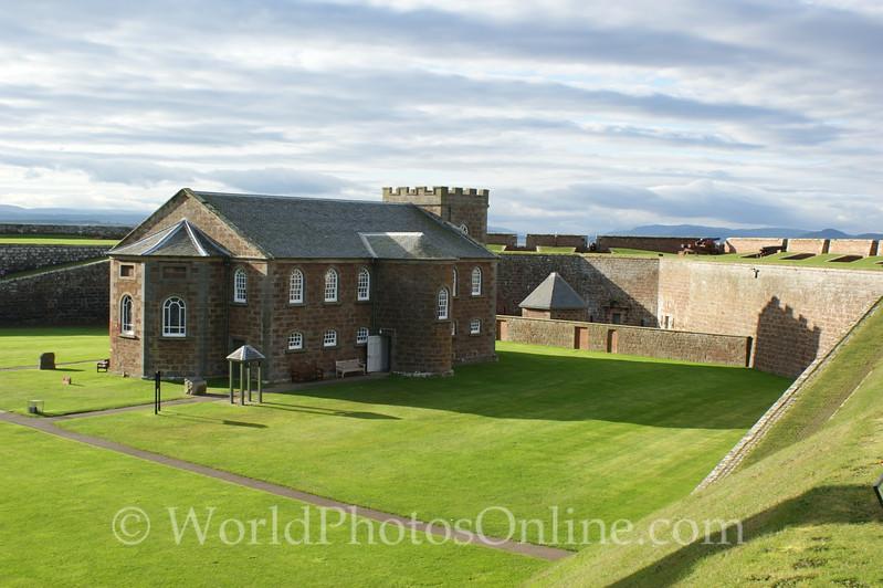 Fort George - Garrison Chape