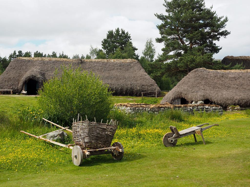 Highland Folk Museum in Scotland