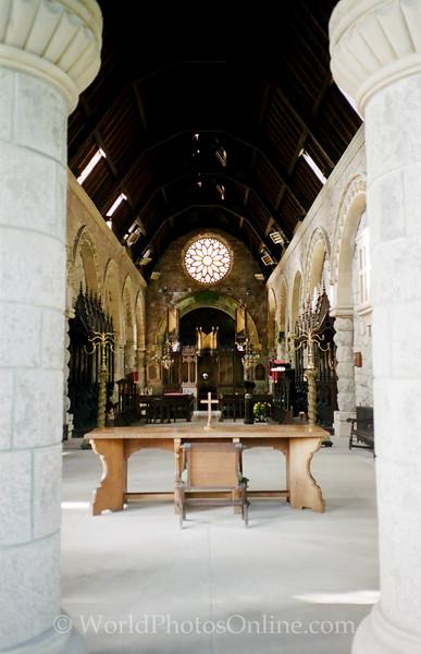 Loch Awe - Saint Conan's Kirk - Bruce Chapel Nave