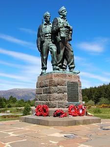 Commando Memorial in Scotland