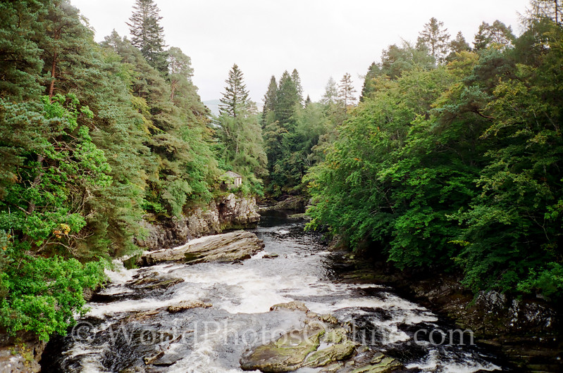 Moriston River from Invermoriston Bridge